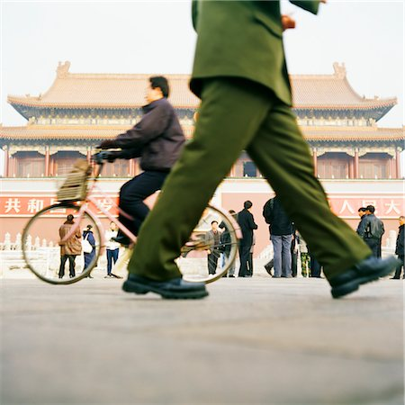Tiananmen Square, Gates of Heavenly Peace, Beijing, China Stock Photo - Rights-Managed, Code: 700-03084021