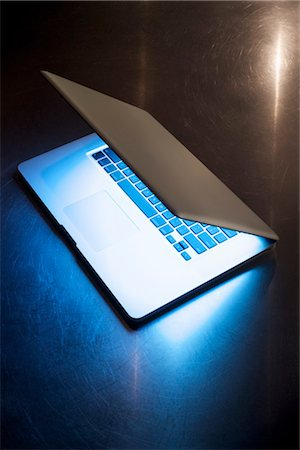 Laptop Computer Stock Photo - Rights-Managed, Code: 700-03152414