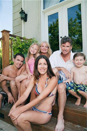 Portrait of Extended Family Stock Photo - Rights-Managed, Code: 700-03152958