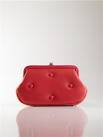 Vintage Red Leather Purse Stock Photo - Rights-Managed, Code: 700-03161593