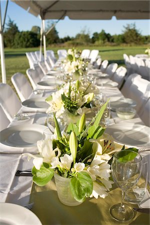 Table Set for Wedding Reception Stock Photo - Rights-Managed, Code: 700-03178416