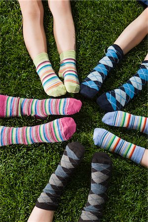 Children Wearing Socks Stock Photo - Rights-Managed, Code: 700-03210504
