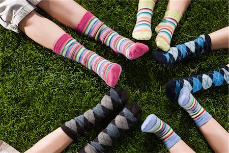 Children Wearing Socks Stock Photo - Rights-Managed, Code: 700-03210503
