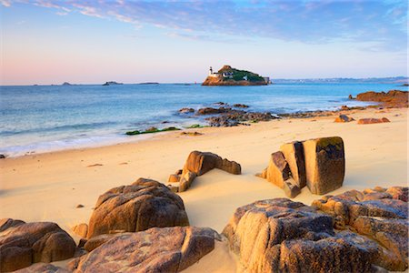 Beach, Morlaix Bay, Finistere, Brittany, France Stock Photo - Rights-Managed, Code: 700-03230029