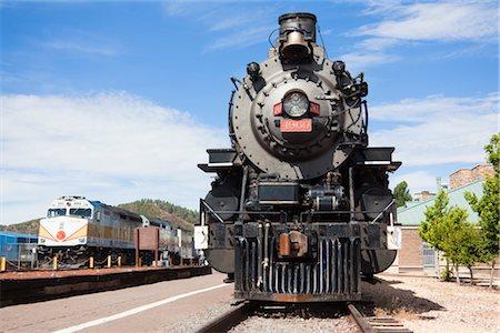 Historic Steam Train, Grand Canyon Railroad, Williams, Arizona, USA Stock Photo - Rights-Managed, Code: 700-03230050