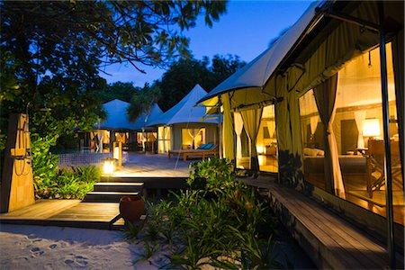 Tent Villa at Banyan Tree Madivaru, Alif Alif Atoll, Maldives Stock Photo - Rights-Managed, Code: 700-03244285