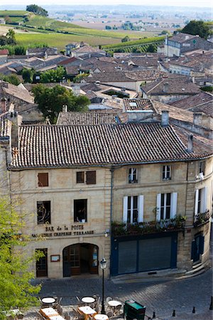 Village of Saint Emilion, Gironde, Aquitaine, France Stock Photo - Rights-Managed, Code: 700-03243828