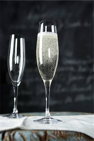 Two Glasses of Champagne Stock Photo - Rights-Managed, Code: 700-03265790