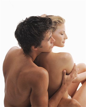 Backview of Nude Couple Stock Photo - Rights-Managed, Code: 700-03298816