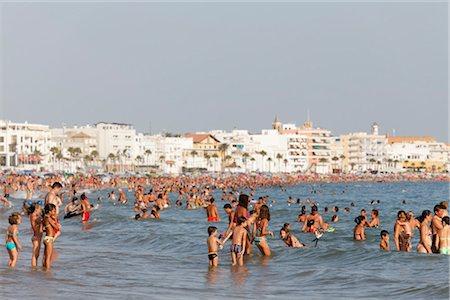Beach at Rota, Cadiz, Andalucia, Spain Stock Photo - Rights-Managed, Code: 700-03333181