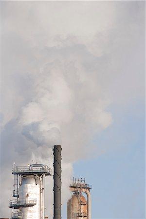 Oil Refinery. Edmonton, Alberta, Canada Stock Photo - Rights-Managed, Code: 700-03361664