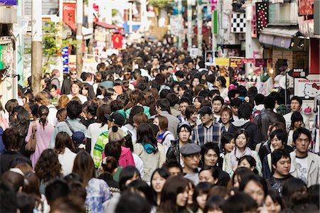 Takeshita-Dori, Harajuku District, Shibuya, Tokyo, Kanto Region, Honshu, Japan Stock Photo - Rights-Managed, Code: 700-03392404