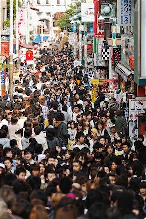 Takeshita-Dori, Harajuku District, Shibuya, Tokyo, Kanto Region, Honshu, Japan Stock Photo - Rights-Managed, Code: 700-03392402