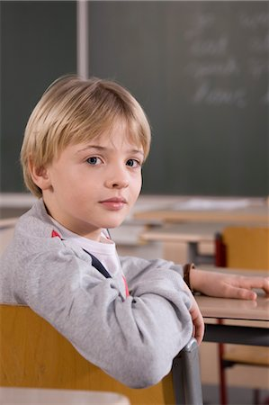 Portrait of Schoolboy Stock Photo - Rights-Managed, Code: 700-03406303