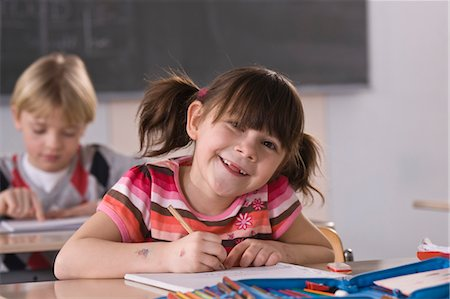 Students in Classroom Stock Photo - Rights-Managed, Code: 700-03406313