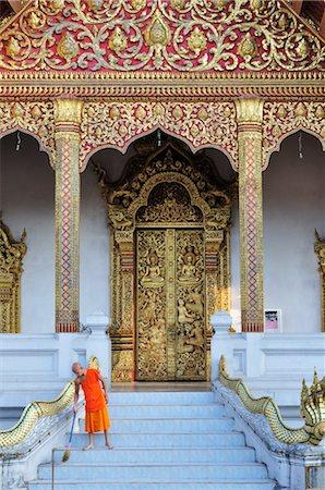 southeast asian - Wat Nong Sikhounmuang, Luang Prabang, Laos Stock Photo - Rights-Managed, Code: 700-03407733