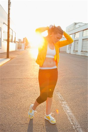 Runner Outdoors Stock Photo - Rights-Managed, Code: 700-03407851
