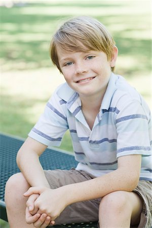 Portrait of Boy Stock Photo - Rights-Managed, Code: 700-03408042