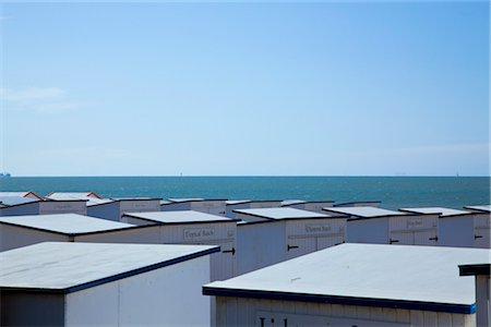 Beach Huts in Knokke, Knokke-Heist, West Flanders, Flanders, Belgium Stock Photo - Rights-Managed, Code: 700-03403748