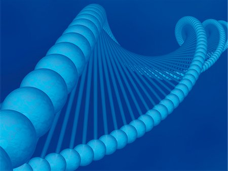 DNA Detail Stock Photo - Rights-Managed, Code: 700-03435203