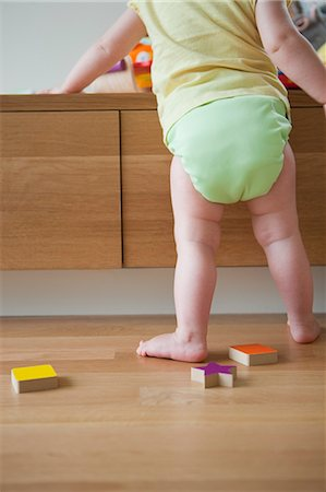 Baby Girl Playing With Toys Stock Photo - Rights-Managed, Code: 700-03439492