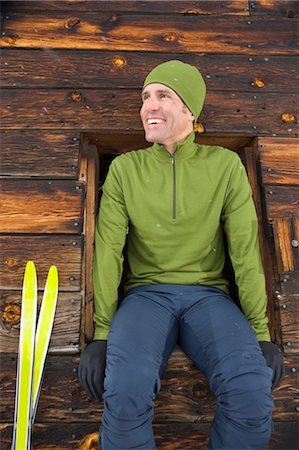 Portrait of Cross Country Skier, Steamboat Springs, Colorado, USA Stock Photo - Rights-Managed, Code: 700-03439903