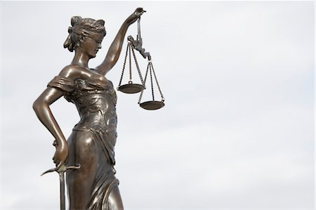 Scales of Justice Stock Photo - Rights-Managed, Code: 700-03445034