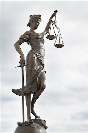 Scales of Justice Stock Photo - Rights-Managed, Code: 700-03445033