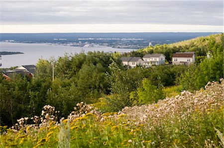 View of Duluth from Hillside, Minnesota, USA Stock Photo - Rights-Managed, Code: 700-03445634