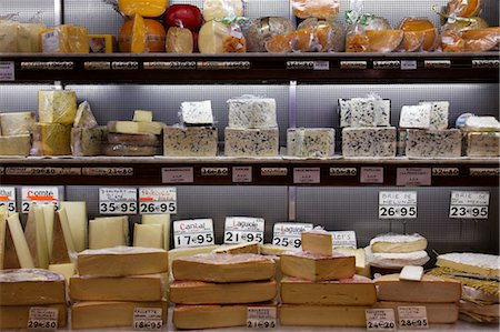 Cheese Shop, Paris, Ile-de-France, France Stock Photo - Rights-Managed, Code: 700-03445906
