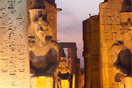 egypt - Ruins at Karnak, near Luxor, Egypt Stock Photo - Rights-Managed, Code: 700-03446001