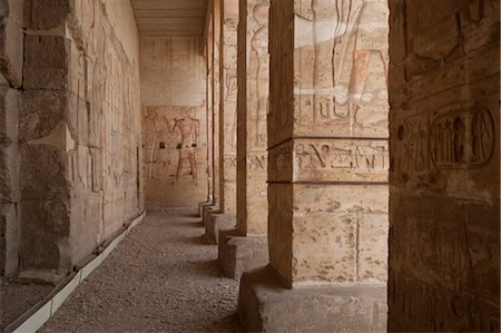 egyptian hieroglyphics - Temple, Luxor, Egypt Stock Photo - Rights-Managed, Code: 700-03446022