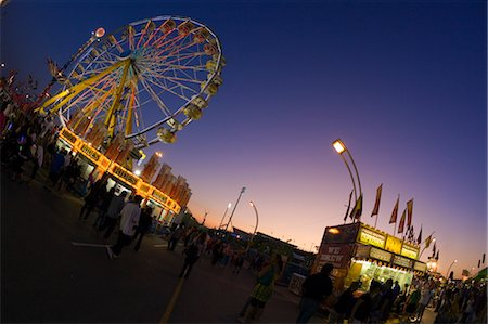 exhibition - CNE in the Evening, Toronto, Ontario, Canada Stock Photo - Rights-Managed, Code: 700-03446049
