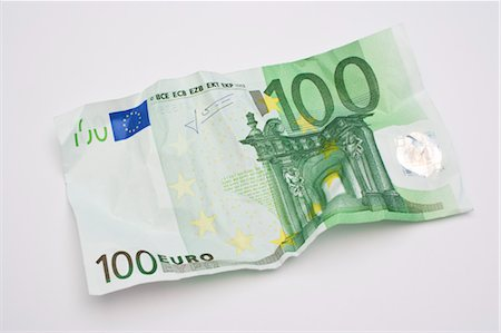 Crumpled 100 Euro Note Stock Photo - Rights-Managed, Code: 700-03448786