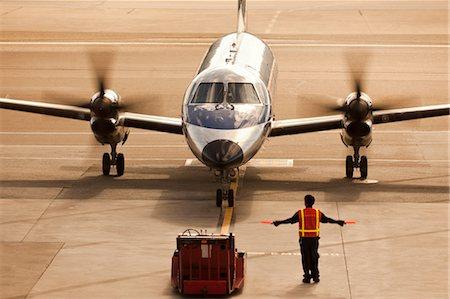 Small Plane at San Francisco International Airport, San Francisco, California, USA Stock Photo - Rights-Managed, Code: 700-03440138