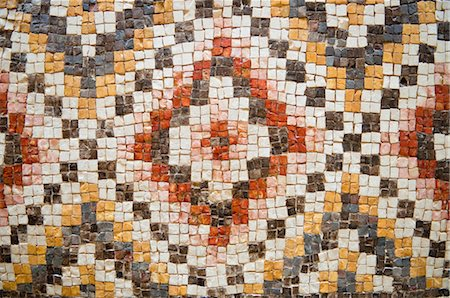 Mosaic at Museum in Mount Nebo, Jordan Stock Photo - Rights-Managed, Code: 700-03456432