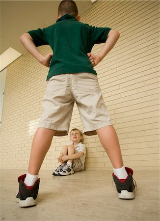 School Bully Stock Photo - Rights-Managed, Code: 700-03456717