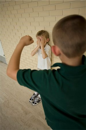 School Bully Stock Photo - Rights-Managed, Code: 700-03456719