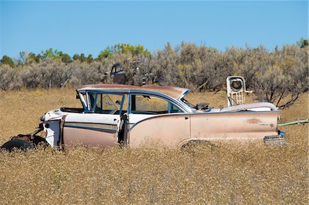 Old, Abandoned Cars in Junk Yard, Desert Southwest, Southwestern United States, USA Stock Photo - Rights-Managed, Code: 700-03451077