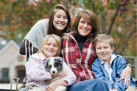 Portrait of Family Stock Photo - Rights-Managed, Code: 700-03451551