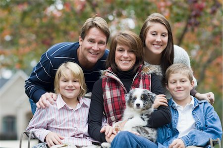 Portrait of Family Stock Photo - Rights-Managed, Code: 700-03451552