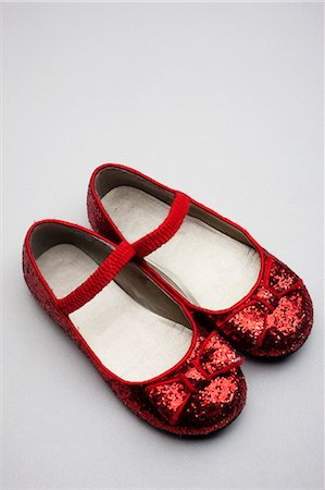 sparkling - Red Glitter Shoes Stock Photo - Rights-Managed, Code: 700-03451647