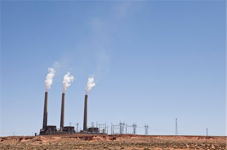 Navajo Generating Station, Arizona, USA Stock Photo - Rights-Managed, Code: 700-03460504