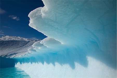 Jagged Edge of Iceberg, Antarctica Stock Photo - Rights-Managed, Code: 700-03484587