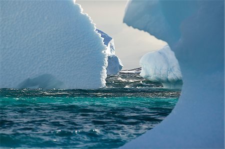 Icebergs.  Antarctica Stock Photo - Rights-Managed, Code: 700-03484588