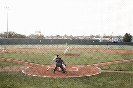 professional baseball game - Baseball Game Stock Photo - Rights-Managed, Code: 700-03485000