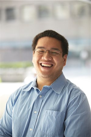filipino (male) - Man Laughing Stock Photo - Rights-Managed, Code: 700-03490379
