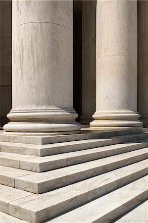 Pillars of Jefferson Memorial, Washington, D.C., USA Stock Photo - Rights-Managed, Code: 700-03508301