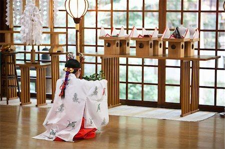 Oyama Jinja, Kanazawa, Ishikawa prefecture, Chubu Region, Honshu, Japan Stock Photo - Rights-Managed, Code: 700-03508537