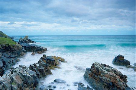 Rugged Coastline of Tolsta Head, Isle of Lewis, Scotland Stock Photo - Rights-Managed, Code: 700-03508642
